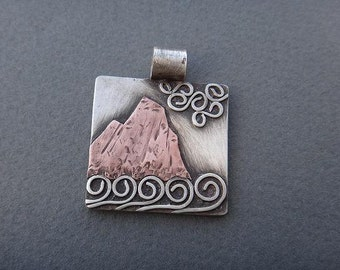 Cliff by the Sea Pendant
