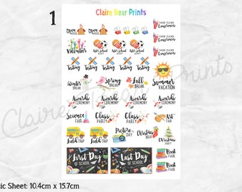 TEACHER Planner Stickers (3 options)