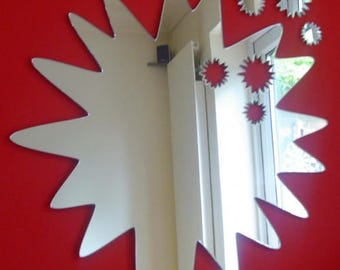 Splats out of Splat Mirror - 5 Sizes Available