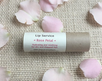 Rose Petal Organic Lip Service