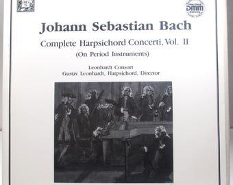 Johann Sebastian Bach - Complete Harpsichord Concerti Vol. II on Period Instrument