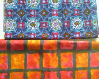 Square patterns - your choice - 100% cotton fabric