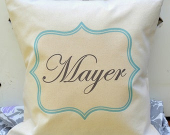 Personalized baby pillow, Boys pillow, Newborn gift, boys pillow, new baby gift, baby boy name pillow, baby gift idea, new baby gift