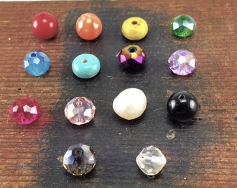 Bead Charms to add to your Kyleemae Designs, Birthstone Charms, Child's Birthstone, Pearl Charm, Turquoise Charm, Colored Bead Charm