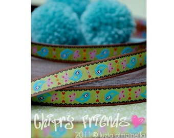 "Jacquard Ribbon Trim ""CHIRPY FRIENDS"" from luzia pimpinella"