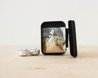 COPAL PALO SANTO Incense Kit // Self-Igniting Charcoal Disk // Energy Cleansing // Ritual Smoke