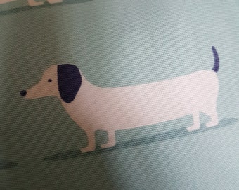 "Dog Print Cushion Cover 16"" X 16"""