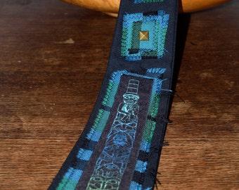 Novelty Tie - Native American - Tribal Totem Pole Design Tie - Mens Ties - Alternative Clothing - Tartan Clothing - Punk Accessories
