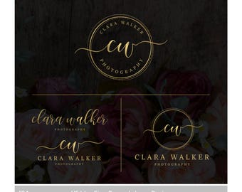 Photography logo | Watermark logo | Premade logo | Logo design | Logo package | Custom logo | Calligraphy logo | Affordable logo | Branding