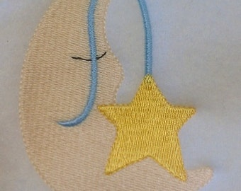 Twinkle Twinkle Machine Embroidery Design Single