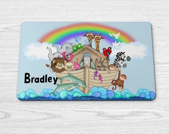 Personalized placemat.  kids gifts, character placemats
