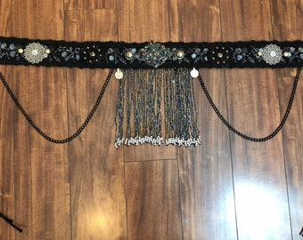 Tribsl Fusion Belly Dance belt