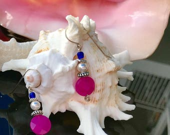 Just a Touch of Pink Earrings