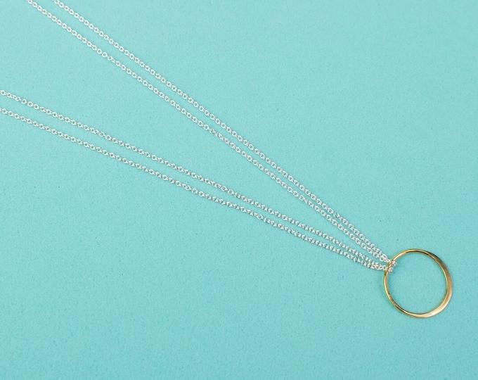 Single Orbit Necklace