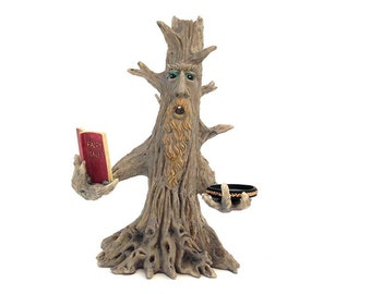 Fairy, Story Telling Tree, Fairy garden Valentine, fairy garden accessory, fairies and pixies, fairy tree, enchanted forest, forest tree