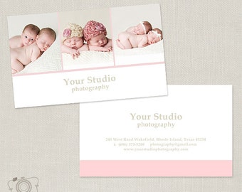 Photography Business Card Template for Photographers -003 - C187, INSTANT DOWNLOAD