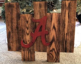 Alabama pallet wood sign