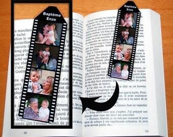 Mini bookmark personalized wrap 4 sided photos