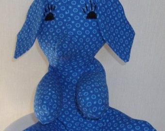 Blue Stuffed Elephant