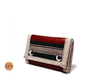Handmade Wallet, Vegan Friendly, Vegan Leather Wallet, Personalized Leather Wallet, Mens Leather Wallet, Womens Leather Wallet - UNUSUAL