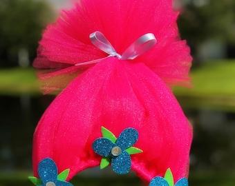 Poppy Troll Headband (Colors can be customized)