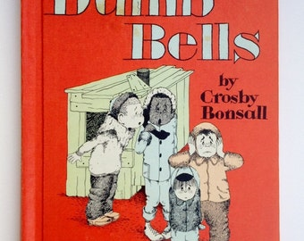 1966 The Case of the Dumb Bells Crosby Bonsall An I Can Read Mystery Book Hardcover