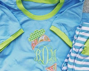 Children Easter Spring Pajamas PJs Kid's Jammies