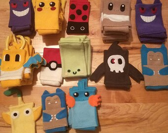 READY TO SHIP 3ds xl Case / Custom Size Pokemon pouch carrying case new 3ds / 3ds xl / nintendo switch / psp vita holder cozy