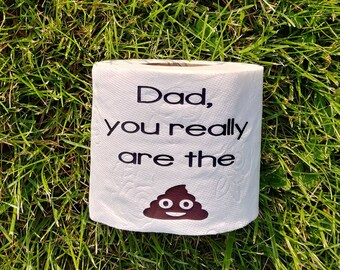 Gag gift, gift for him, Father's day gift, birthday for him, gift for dad, novelty gift, prank gift, dad, Father, bathroom, funny gift