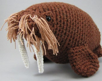 Walrus - PDF amigurumi crochet pattern
