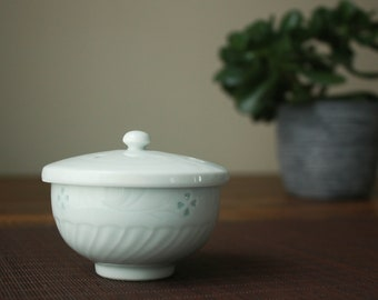 White Sakura Japanese Teacup