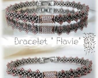"""Schéma bracelet"""" Flavie"""""""