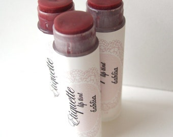Dahlia Lip Tint - Plum Tinted Lip Balm
