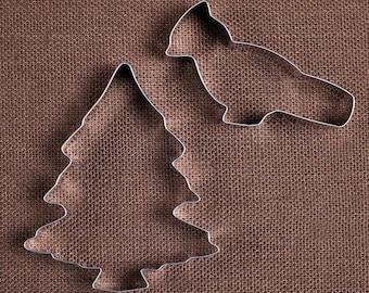 Christmas Cookie Cutter, Cardinal Cookie Cutter, Christmas Tree Cookie Cutter, Holiday Cookie Cutters, Sugar Cookie Cutters