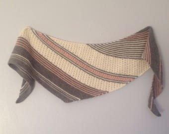 Winter Melody Knit Shawl Pattern