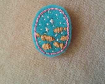 Starry Twilight Sky (Patch, Pin, Brooch, or Magnet)