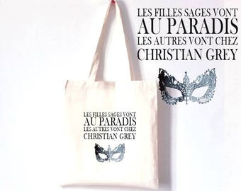 TOTE BAG 100% cotton special 50 shades of Grey