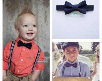 First Birthday Boy Outfit, Boys Bow Tie Suspenders, Cake Smash Outfit, Boys Suits, Ring Bearer Outfit, Baby Boy Suspenders, Baby Boy Bow Tie