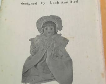 Vintage Ruthie doll pattern