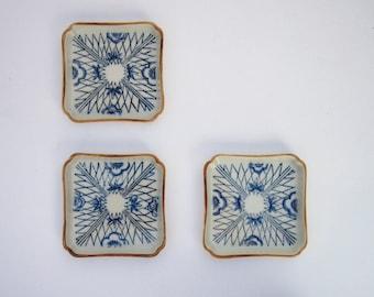 Blue & Orange Trinket Dishes