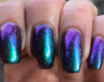 Little Bloomer multichrome nail polish