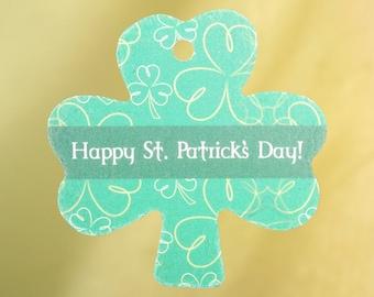 Happy St Patrick's Day Shamrock Air Freshener