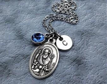 Saint Nicholas Necklace / St Nicholas Necklace / Catholic Jewelry / Catholic Necklace / Patron Saint