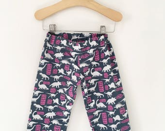 Dino Growl Baby, Toddler, and Child Straight Leg Pants