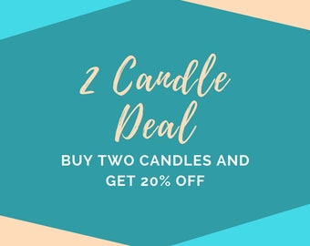 2 Bookish Candle Deal