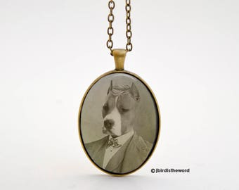 Pit Bull Necklace, Pit Bull Jewelry, Pit Bull, Dog Necklace, Dog Jewelry, Terrier, Staffordshire, Pit Bull Charm, Pit Bull Terrier, Pittie
