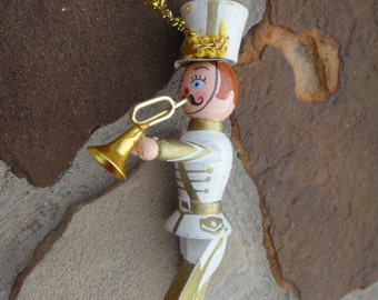 Beautiful Vintage Christmas Ornament Wooden Toy Solider Christmas Tree Ornament Christmas Decoration