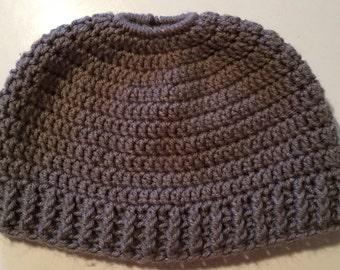 Adult Ponytail Hat
