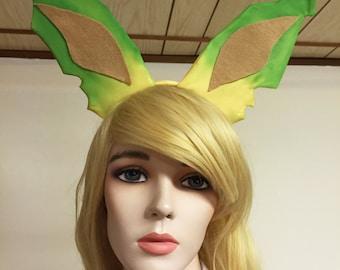 Leafeon Cosplay Ears