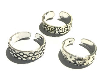 925 solid Sterling silver toe rings
